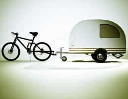 Bicycle Mini Camper Design 4 by sicklilmonky