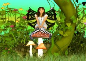 Beanstalk Faerie's Time-Out by VisualPoetress