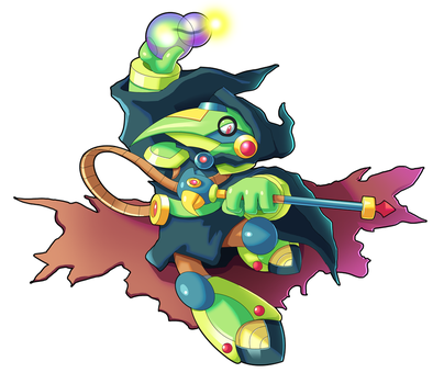 Commission: Plague Knight X by ultimatemaverickx