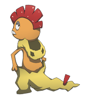 Scrafty by AInfinity