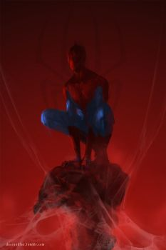 Spiderman by DeerandFox