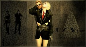 JillxWesker Another Fashion Ad by Jill---Valentine