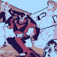 Baccano! meets Gurren Lagann by DevintheCool