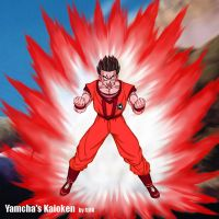 Yamcha's Kaioken - Done right by dragonballdeviants