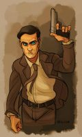 Sterling Archer by mr-book-faced