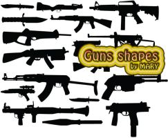 Guns by MARY1976