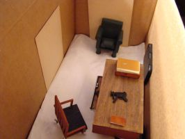 Bookbinder Diorama: All Three Rooms Mock-Up 5 by skphile