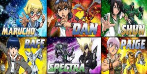 Bakugan: MS - The Heroes by ian2x4