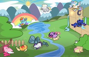 Pony Atsume by zombie