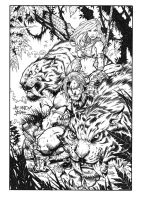 JoeMad Kazar inks by broken-nib