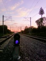 Sunset on M800 by ranger2011