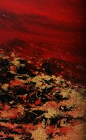 DETAIL 2 LAVA FLOW by lilianagraham
