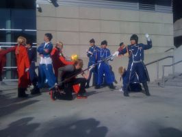 AX'11: Flame vs Full Metal by theEmperorofShadows