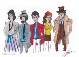 Lupin Family by Dorothy-of-Oz