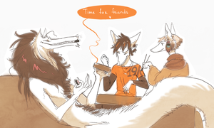 Time for friends by Lingrimm