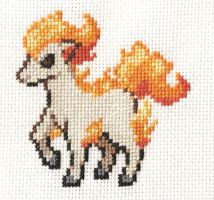 Ponyta by astraldreamer