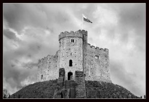 Cardiff Castle by Silver-Guild