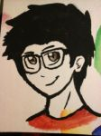 Mark watercolours by Oni-the-hedgehog
