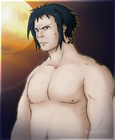 44 Year Old Sasuke by Dupa-the-Surt