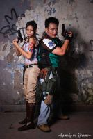 Sheva and Chris by luckysevenstars