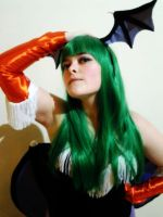 Morrigan Cosplay 1 by Edaine