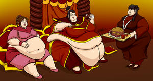 Commission: Flabby Firelord by Idle-Minded
