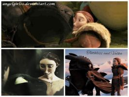 Toothless and Valka by Angelgirl10