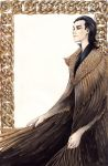 Loki with feather Cloak by litzebitz