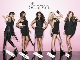 The Saturdays Wallpaper no.3 by flaminghearts