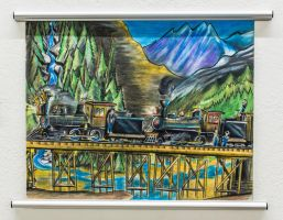 White Pass and Yukon Railroad, Alaska. by RPM1000