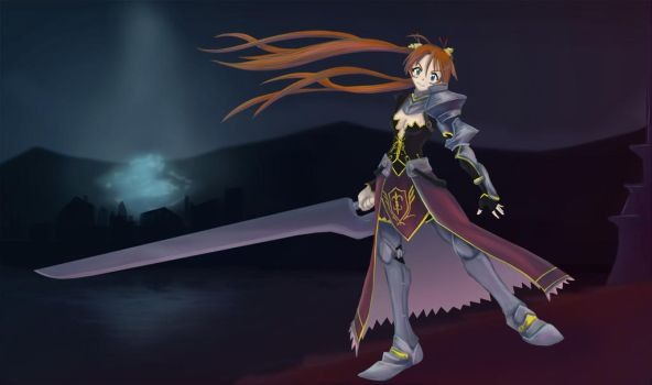 Asuna Splash Art   -Animated- by Wlack