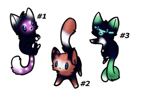 Kitty Adoptables :CLOSED: by SALBP