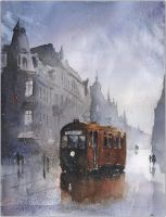The last tram to Gliwice by sanderus