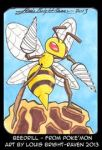 Beedrill (Sketch card- Sold) by Bright-Raven