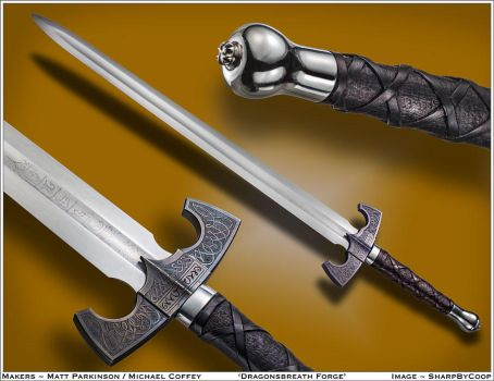 Seeker's Sword Collaboration by CuSmith