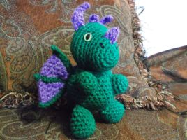 Bubba the Baby Dragon by ShadowOrder7