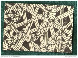 Tangled I ATC 88 by Quaddles-Roost