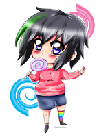 Chibi Momo request by Leefuu