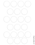 Free Bottle Cap Template Sheet 8.5x11 by capturedbykc