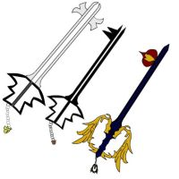 Kingdom Hearts - My KEyblades by Sajirou