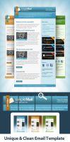 Clean Email Template by EAMejia