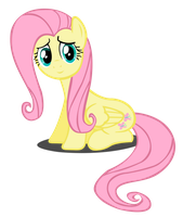 Fluttershy Vector by Dipi11