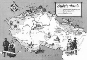 Sudetenland map by Arminius1871