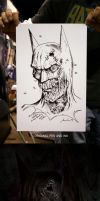 Zombie Batman 2 by Awtew