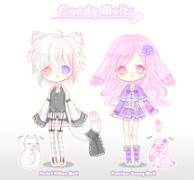 Candy Melts Set 1 {CLOSED} by Reirii