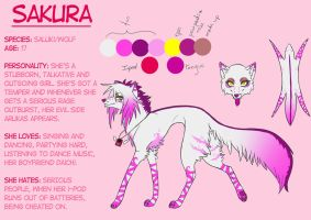 Sakura Reference Sheet 2012 by SodaButtles