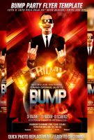PSD Bump Party Flyer Template by retinathemes