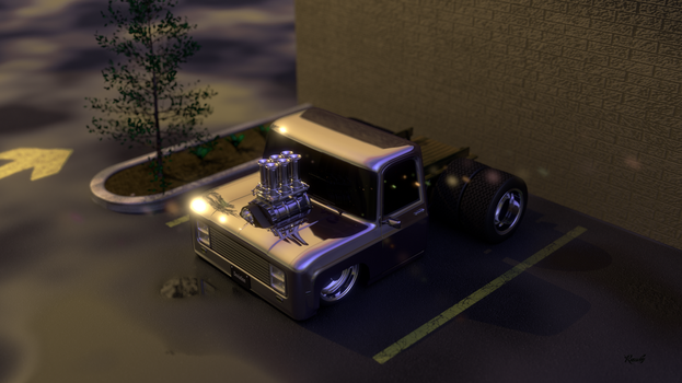 Parked Thing by pop-a-wheelie