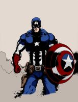 Captain America by Furiousangels