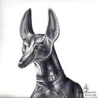 Anubis by Wolf-Daughter
